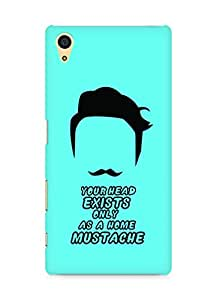 Amez designer printed 3d premium high quality back case cover for Sony Xperia Z5 (Mustache)