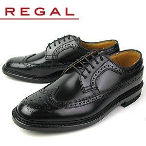 [リーガル] REGAL メンズ 靴 ウィングチップ ビジネスシューズ 2E 2589N ブラック 26.5cm