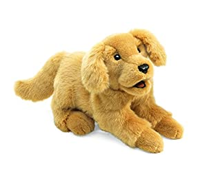 Folkmanis Golden Retriever Puppy Hand Puppet from Folkmanis