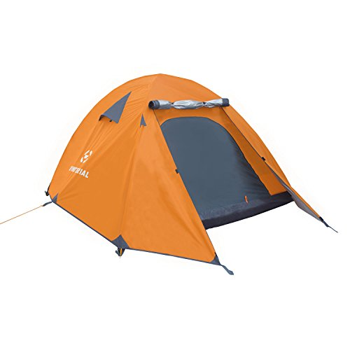 Winterial 4 Person Tent / Easy Setup Lightweight Camping and Backpacking 3 Season Tent / Compact (4 Person Backpacking Tent compare prices)