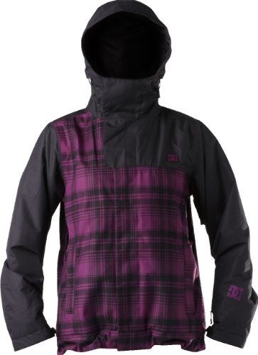 DC Shoes Damen Snowboard Jacke Chapa 12, dark purple black, S, D064641104