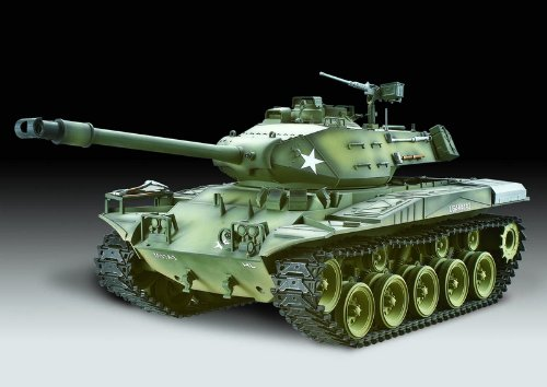 1/16 Scale Radio Remote Control U.S M41A3 Walker Bulldog Battle Tank with Smoke & Sound Custom Paint