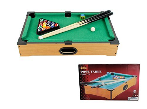 Table Top Mini Pool Table 6 years plus Real Wooden Games Kids by Royle jetzt bestellen