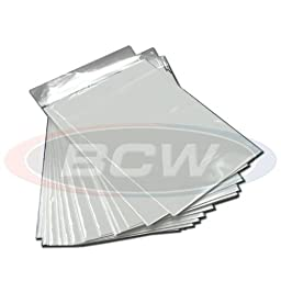 (50) Current Age Standard Size Clear Comic Book Bags & Backer Boards By BCW