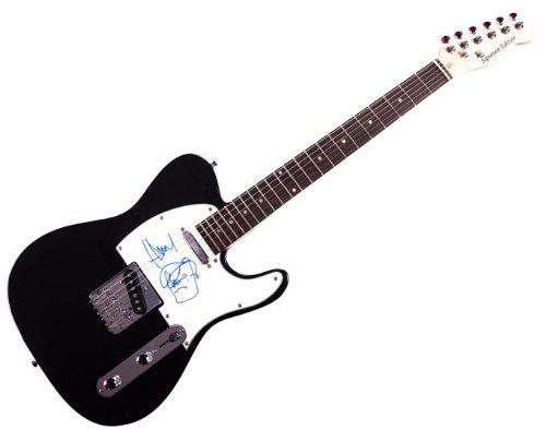 Jamie Hewlett Autographed Murdoc Sketch Gorillaz Tele Guitar