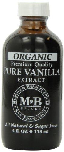 Morton & Bassett Premium Vanilla Extract, 4-ounces (Lemon Custard Ice Cream compare prices)