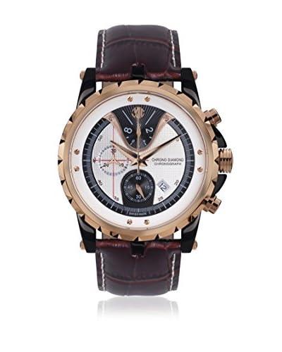 Chrono Diamond Reloj con movimiento cuarzo suizo Man 10700 Furia Marrón