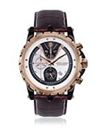 Chrono Diamond Reloj con movimiento cuarzo suizo Man 10700Dr Furia Marrón