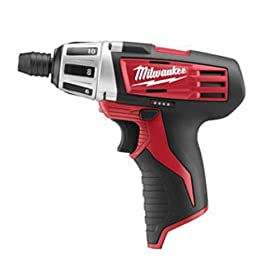 Bare-Tool Milwaukee 2401-20 M12 12-Volt Li-Ion Subcompact Driver (Tool Only, No Battery)