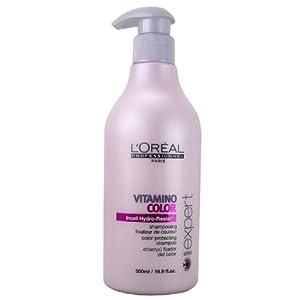 L'Oréal Serie Expert Vitamino Color Shampoo 500ml, 1er Pack (1 x 500 ml)