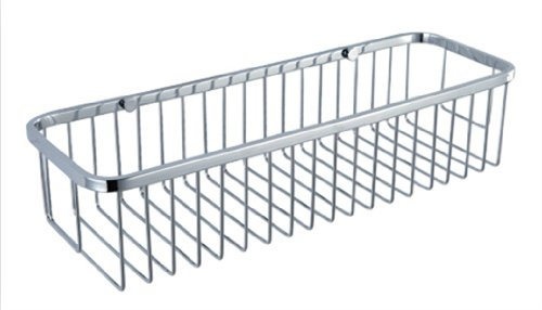 Rectangular Shower Caddy - Stainless Steel Wall Mount Shower Basket for Bathroom , Polished Chrome (Duck Feet Mirror compare prices)