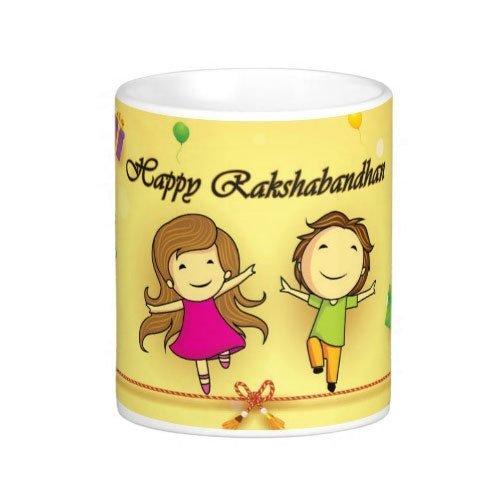 Rakhi Mug Gifts For Sister Ceramic Mug320 Ml By PB EPublishers