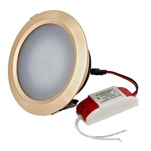 Ac 85-265V 9W 18 Smd Leds Warm White Led Light Downlight Lamp Bulb
