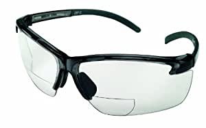 Safety Works 10061646 Bifocal Safety Glasses 2 0 Diopeter