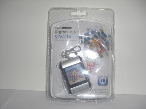 Digital Solution-Digitalphoto Keychain-Take Your Photos Anywhere-Stores Up To 70 Color Photos-1.5 Inch Color Lcd Display-Built In Rechargeable Battery-Usb Cable Included-Sortware Pre-Installed
