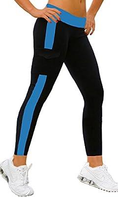 iLoveSIA® Women's Running Capri Tights YOGA Pants Leggings (Fulfilled By Amazon Only)