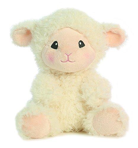 """Lopsie Woppise Lambie Cream Small 10"""" by Aurora"""