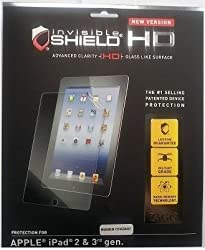 ZAGG invisibleSHIELD HD Screen Protector for Apple iPad 3 & 4 Maximum Coverage (new version)