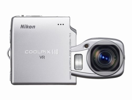 Nikon Coolpix S10 6MP Digital Camera with 10x Vibration Reduction Zoom