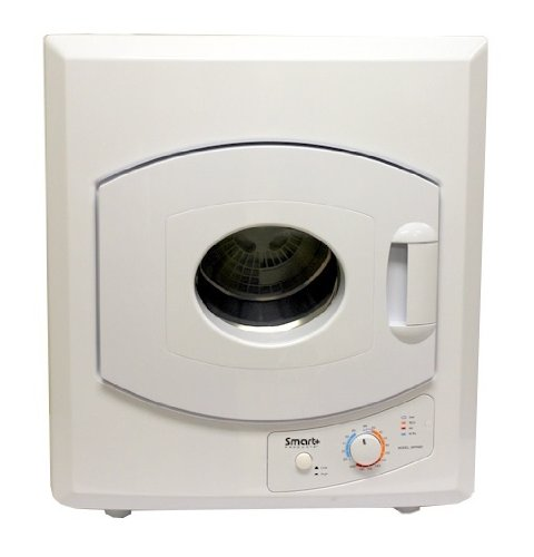 Smart+ Products SPP98D Compact Electric Tumble Vented Laundry Dryer, 2.65 Cubic Feet