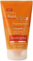 Neutrogena Rapid Clear Foaming Scrub, 4.2 Ounce