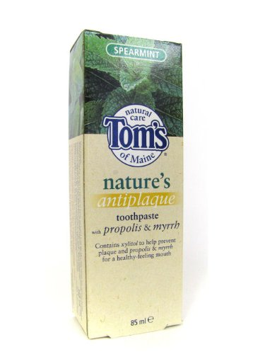 Toms Of Maine Spearmint Whitening Toothpaste 85ml