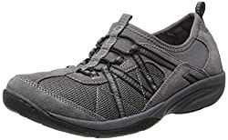 Easy Spirit Womens Lindell Rubber Walking Shoe,Medium Grey,6 W US