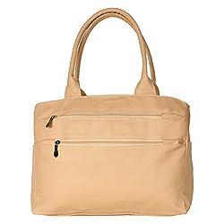 Glory Fashion Women's Stylish Handbag Cream-GF-205