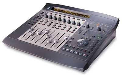 Learn More About Digidesign Command 8 Control Surface