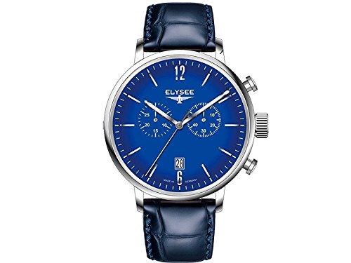 Elysee reloj hombre Classic Stentor cronógrafo 13295