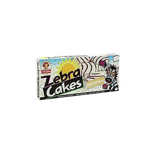Zebra Cakes Little Debbie Box
