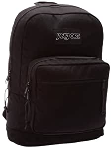 Jansport School Right Pack Backpack in Black Monochrome, Size: O/S, Color: Black Monochrome