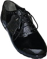 Girl Kids Bavarian Trachten-shoes Black