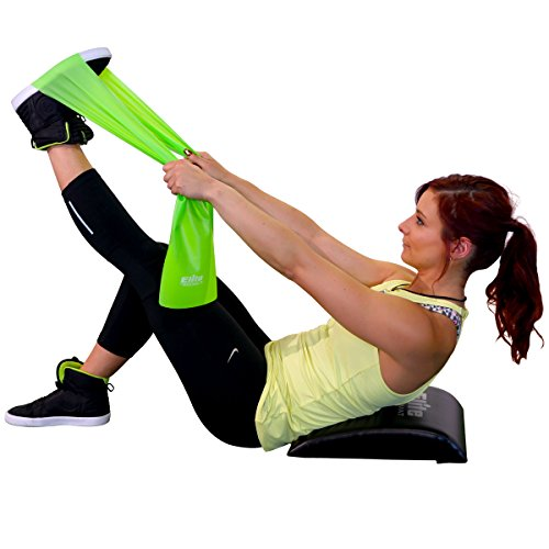 Elite Ab Mat Sit Up Pad With Resistance Band