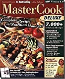 Brand New Valusoft Mastercook Deluxe 8.0 America's Favorite #1 Best Selling Cooking Software