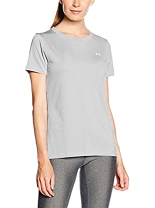 Under Armour Camiseta Manga Corta Ua Hg Armour Ss (Gris)