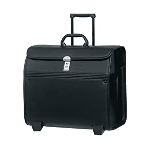 samsonite trolley transit synaptic pilot case on wheels 17 jet black 49x46x26 cm 49x46x26. Black Bedroom Furniture Sets. Home Design Ideas