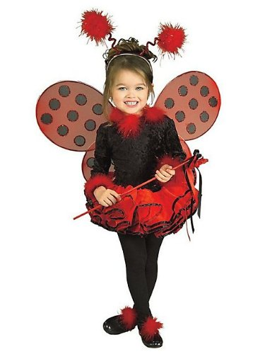Child's Costume, Lady Bug Tutu Costume