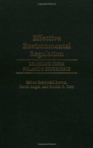 Effective Environmental Regulation: Learning From Poland'S Experience