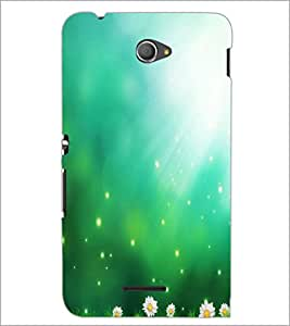 PrintDhaba Pattern D-2201 Back Case Cover for SONY XPERIA E4 (Multi-Coloured)