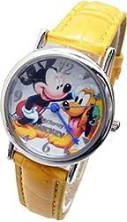 Disney Watch Mickey & Pluto . Analog Display.