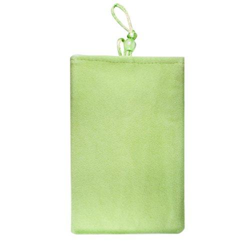Flanell Tasche für Samsung Galaxy Kamera EK-GC100, EK GC120 - grün