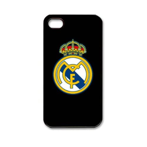 Amazon.com: iphone 4 case Real Madrid FC with black background iphone