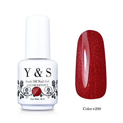Yaoshun-Gelpolish-Soak-off-Gel-Nail-Polish-UV-LED-Nail-ArtBeauty-Care-8ml-200