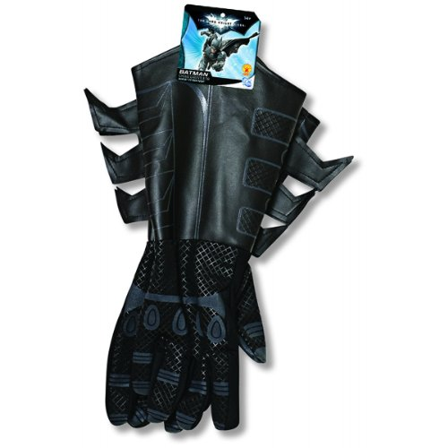 DC Comics - Costume Accessory: Batman Gauntlets- Child Size