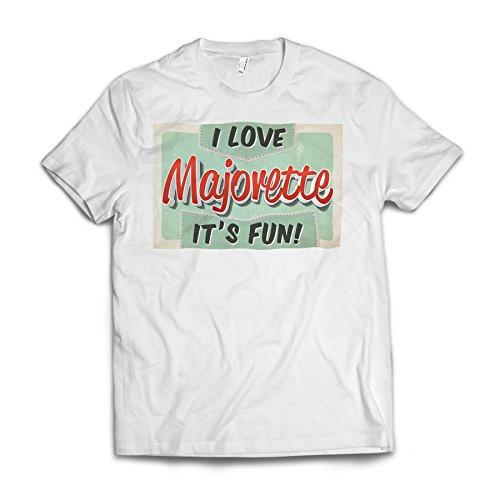 Neonblond I Love Majorette, Vintage design American Apparel T-Shirt Medium