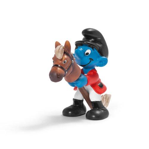 Schleich Rider Smurf Figure - 1