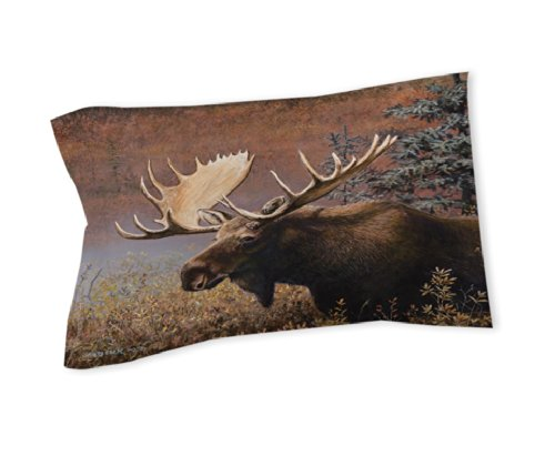 Thumbprintz Pillow Sham, King, Moose