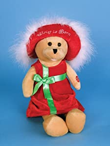 Chantilly Lane Singing Connie Talbot Bear - Mary's Boy Child