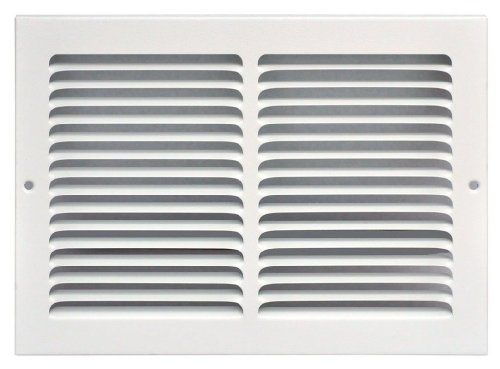 Speedi-Grille SG-148 RAG 14-Inch by 8-Inch White Return Air Vent Grille with Fixed Blades